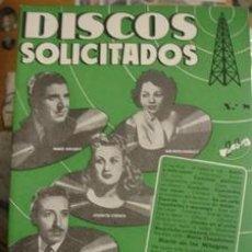Catálogos de Música: DISCOS SOLICITADOS EDICIONES BISTAGNE Nº8. Lote 38445730