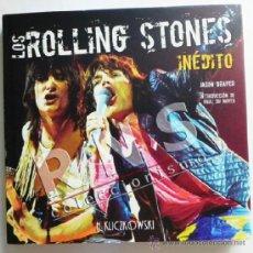 Catálogos de Música: LOS ROLLING STONES INÉDITO - GRUPO MÚSICA ROCK - MUY ILUSTRADO JASON DRAPER FOTOS HISTORIA LIBRO. Lote 38550658