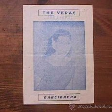 Catálogos de Música: THE VERAS, CANCIONERO. Lote 38617355