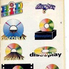 Catálogos de Música: BOLETIN DISCOPLAY - Nº 148 - JULIO 1996. Lote 38652312