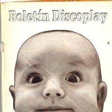 Catálogos de Música: BOLETIN DISCOPLAY - Nº 209 - JULIO 2001. Lote 38656421
