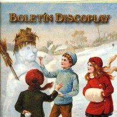 Catálogos de Música: BOLETIN DISCOPLAY - Nº 214 - DICIEMBRE 2001. Lote 38656468