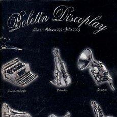 Catálogos de Música: BOLETIN DISCOPLAY - Nº 233 - JULIO 2003. Lote 38659416
