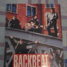 Catálogos de Música: BACKBEAT - LIBRETO DE PROMOCION DE LA PELICULA - EDICION FRANCESA.THE BEATLES.. Lote 38766022