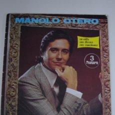 Catálogos de Música: REVISTAS MANOLO OTERO SU VIDA SUS DISCOS SUS CANCIONES - REVISTA MUSICAL TOP. Lote 38821633
