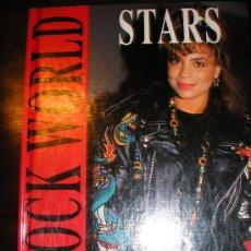 Catálogos de Música: ROCK WORLD (STARS, POR KAY ROWLEY - EN INGLES - USA - 1991 - PRIMER EDICION - PARA COLECCIONISTAS!. Lote 38914373