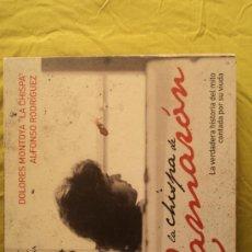 Catálogos de Música: LA CHISPA DE CAMARON. DOLORE MONTOYA Y A.RODRIGUEZ.ESPASA.2008 333 PAG. Lote 154714556