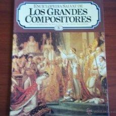 Catálogos de Música: LOS GRANDES COMPOSITORES DE EDIT.SALVAT - FASCICULO Nº 5 -AÑO 1982. Lote 39477415
