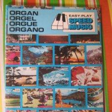 Catalogues de Musique: EASY-PLAY SPEED MUSIC. METODO FACIL PARA TOCAR EL ORGANO. Lote 39635692