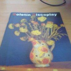 Catálogos de Música: BOLETIN REVISTA BID DISCOPLAY AÑO 18 Nº 194 MARZO 2000. Lote 39659554