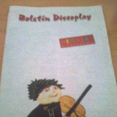 Catálogos de Música: BOLETIN REVISTA BID DISCOPLAY AÑO 17 Nº 181 FEBRERO 1999. Lote 39672722