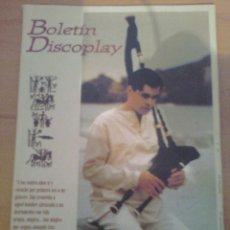 Catálogos de Música: BOLETIN REVISTA BID DISCOPLAY AÑO 17 Nº 183 ABRIL 1999. Lote 39674964