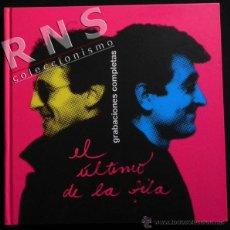 Catálogos de Música: EL ÚLTIMO DE LA FILA GRABACIONES COMPLETAS - GRUPO ESPAÑOL MÚSICA POP ROCK FOTOS MANOLO GARCÍA LIBRO. Lote 51361005