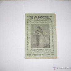 Catálogos de Música: CANCIONERO SARCE AÑOS 1940. Lote 40299072