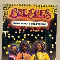 Catálogos de Música: BEE GEES - JORDI SIERRA I FABRA - 178 PAGINAS, EDC UNILIBRO 1º EDC 1978 + FOTOS A COLOR !! EXC. Lote 40542195