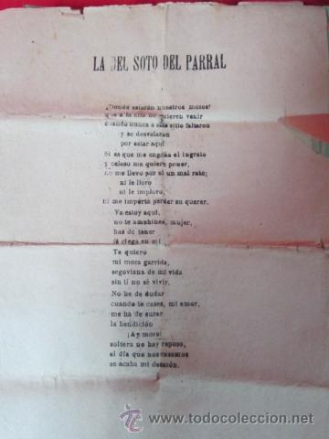 Catálogos de Música: Conjunto de pasquines o cancioneros con canciones populares, coplas, tangos, flamenco - Foto 6 - 41173092