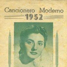 Catálogos de Música: CANCIONERO. JUANITA REINA, SUS ULTIMAS CANCIONES. MORENA, FRENTE A FRENTE … A-CANCI-008. Lote 41173731