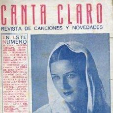Catálogos de Música: CANCIONERO. IMPERIO ARGENTINA. JUAN SIMON,COFRECITO … A-CANCI-029. Lote 41215494