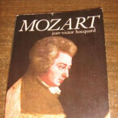 Catálogos de Música: MOZART - JEAN VICTOR HOCQUARD - ANTONI BOSCH EDITOR 1980. Lote 41606938