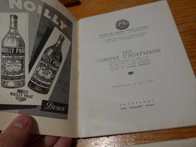 Catálogos de Música: Lote de 4 programa de Teatro, musica, opera, paris, liceo, liceu - Foto 6 - 41608883