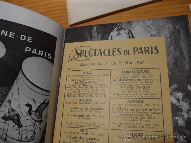 Catálogos de Música: Lote de 4 programa de Teatro, musica, opera, paris, liceo, liceu - Foto 7 - 41608883
