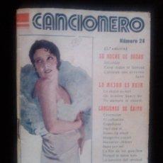 Catálogos de Música: CANCIONERO Nº 24 IMPERIO ARGENTINA ED ALAS SUS GRANDES EXITOS 32 PAGINAS. Lote 41635885