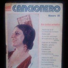 Catálogos de Música: CANCIONERO Nº 28 ED ALAS PASTORA IMPERIO SUS EXITOS ACTUALES 32 PAGINAS. Lote 41636027