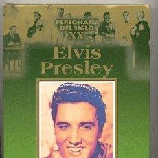 Catálogos de Música: BIOGRAFIA ELVIS PRESLEY // 199 PAGINAS CON FOTOS . Lote 42179788