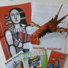 Catálogos de Música: LOTE 5 CATALOGOS DEL BOLETÍN DISCOPLAY. Lote 42352583