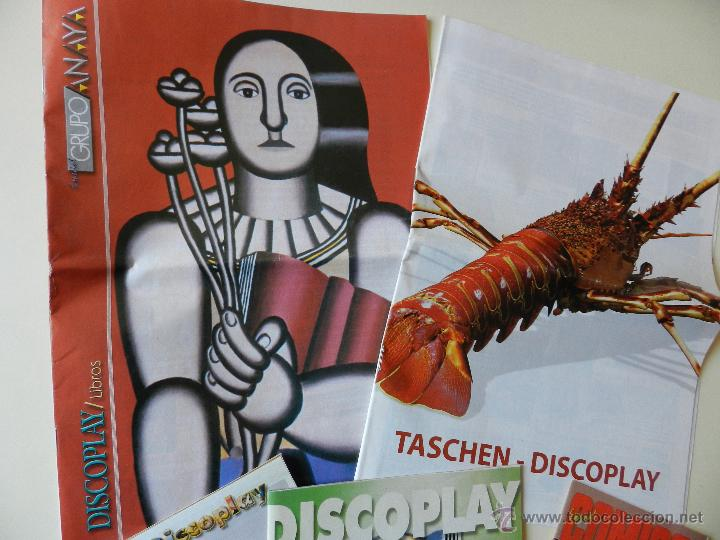 Catálogos de Música: LOTE 5 CATALOGOS DEL BOLETÍN DISCOPLAY - Foto 2 - 42352583