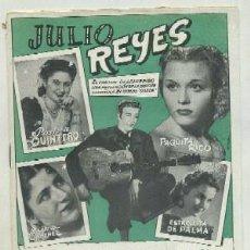 Catálogos de Música: JULIO REYES. EL CANTAOR DESCONOCIDO A-CANCI-036,2. Lote 42408171