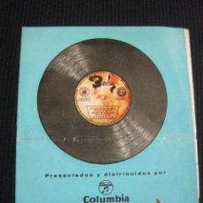 Catálogos de Música: NUEVOS DISCOS BARCLAY. SUPLEMENTO 7-E. OCTUBRE 1962.. Lote 42774481