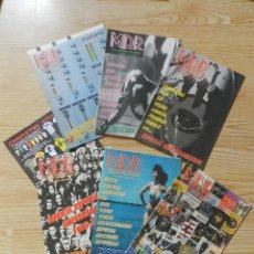 Catálogos de Música: LOTE 7 CATÁLOGOS M. D. R. MÚSICAS DE RÉGIMEN MDR AÑO 2003. Lote 43291673