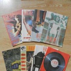Catálogos de Música: LOTE 8 CATÁLOGOS M. D. R. MÚSICAS DE RÉGIMEN MDR AÑO 2004. Lote 43291694