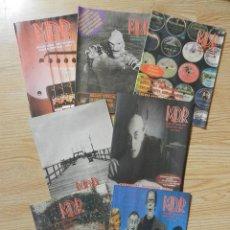 Catálogos de Música: LOTE 7 CATÁLOGOS M. D. R. MÚSICAS DE RÉGIMEN MDR AÑO 2002. Lote 43291702