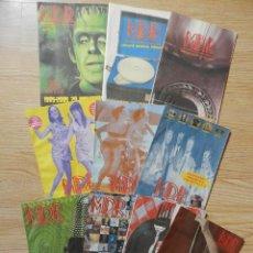 Catálogos de Música: LOTE 10 CATÁLOGOS M. D. R. MÚSICAS DE RÉGIMEN MDR AÑO 2005. Lote 43291732