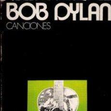 Catálogos de Música: BOB DYLAN, CANCIONES. Lote 43303254