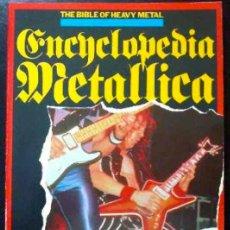Catálogos de Música: LA BIBLIA DEL HEAVY METAL. ENCICLOPEDIA METÁLICA - BRIAN HARRIGAN, MALCOLM DOME - LIBRO EN INGLÉS. Lote 31211273