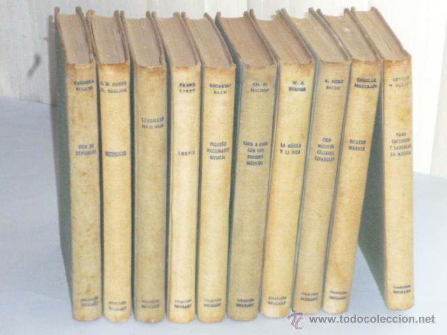 Catálogos de Música: COLECCIÓN MOZART. 10 MONOGRAFÍAS DEL MUNDO DE LA MÚSICA. - Foto 2 - 43605305