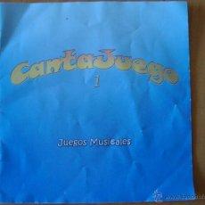 Catálogos de Música: CATALOGO JUEGOS MUSICALES CANTAJUEGOS 2004. Lote 43654675