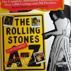 Catálogos de Música: THE ROLLING STONES A-Z - TEXTO EN INGLÉS - MUCHAS FOTOS - GRUPO BRITÁNICO DE MÚSICA ROCK A TO Z A Z. Lote 43886289