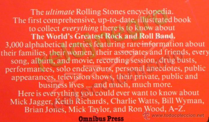 Catálogos de Música: The Rolling Stones A-Z - TEXTO EN INGLÉS - MUCHAS FOTOS - GRUPO BRITÁNICO DE MÚSICA ROCK A to Z A Z - Foto 3 - 43886289