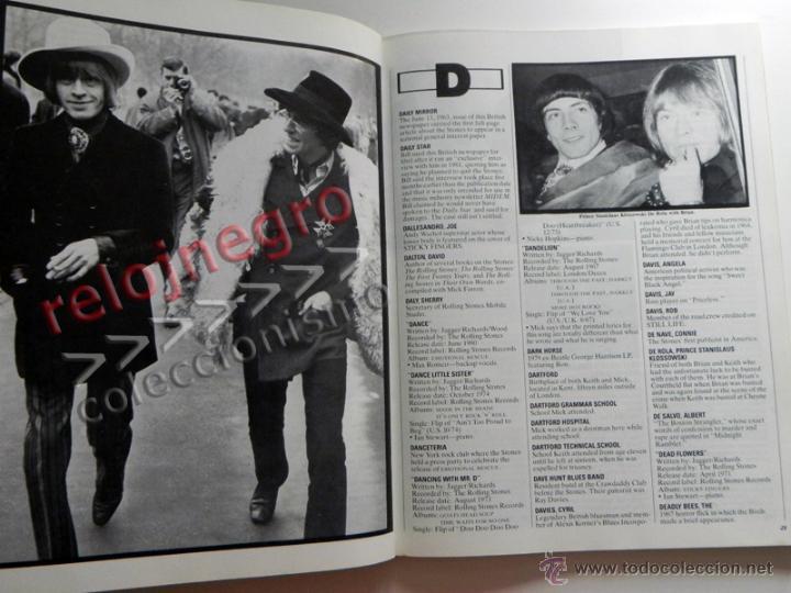 Catálogos de Música: The Rolling Stones A-Z - TEXTO EN INGLÉS - MUCHAS FOTOS - GRUPO BRITÁNICO DE MÚSICA ROCK A to Z A Z - Foto 4 - 43886289