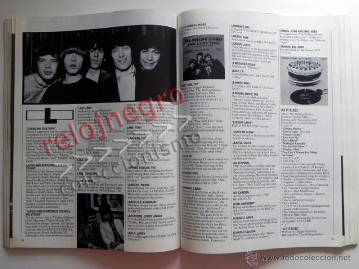 Catálogos de Música: The Rolling Stones A-Z - TEXTO EN INGLÉS - MUCHAS FOTOS - GRUPO BRITÁNICO DE MÚSICA ROCK A to Z A Z - Foto 5 - 43886289