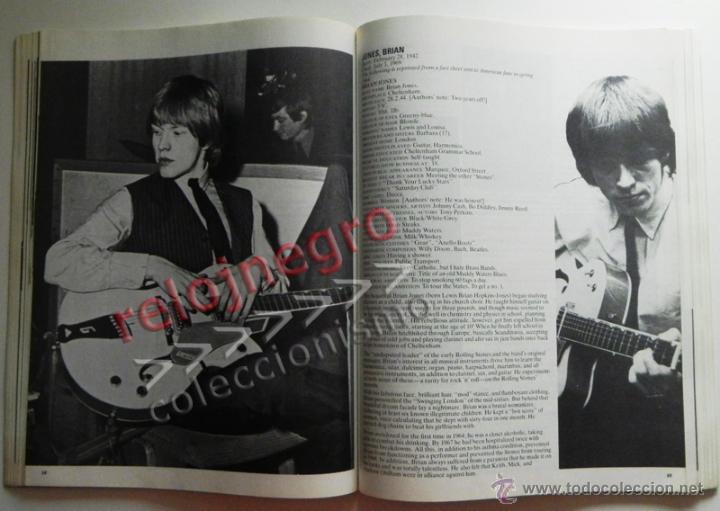 Catálogos de Música: The Rolling Stones A-Z - TEXTO EN INGLÉS - MUCHAS FOTOS - GRUPO BRITÁNICO DE MÚSICA ROCK A to Z A Z - Foto 6 - 43886289