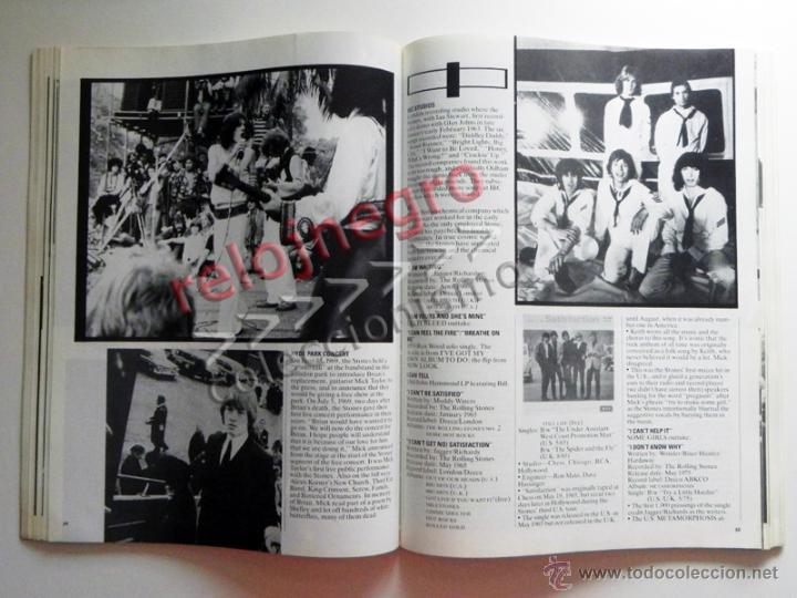 Catálogos de Música: The Rolling Stones A-Z - TEXTO EN INGLÉS - MUCHAS FOTOS - GRUPO BRITÁNICO DE MÚSICA ROCK A to Z A Z - Foto 7 - 43886289