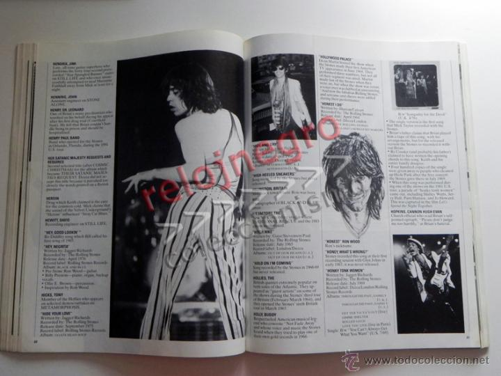 Catálogos de Música: The Rolling Stones A-Z - TEXTO EN INGLÉS - MUCHAS FOTOS - GRUPO BRITÁNICO DE MÚSICA ROCK A to Z A Z - Foto 8 - 43886289