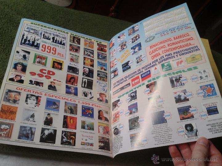 Catálogos de Música: REVISTA BOLETIN CATOLOGO MUSICAL NUM. 228 DICIEMBRE 1998 98 DISCOS PIONEROS JAEN MUSICA - Foto 2 - 43977894