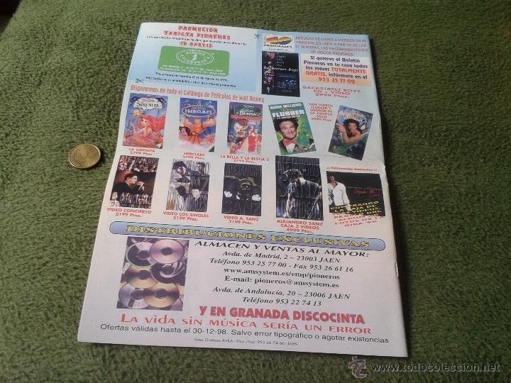 Catálogos de Música: REVISTA BOLETIN CATOLOGO MUSICAL NUM. 228 DICIEMBRE 1998 98 DISCOS PIONEROS JAEN MUSICA - Foto 3 - 43977894