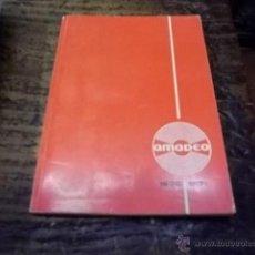 Catálogos de Música: 425.- CATALOGO DE DISCOS AMADEO 1970-71. Lote 44074949